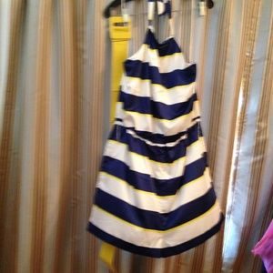 ROMPER/BLUE WHITE YELLOW ROMPER/NAUTICAL
